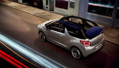 cute citroen ds3 cabrio speed 2560x1440 wallpaper 10633