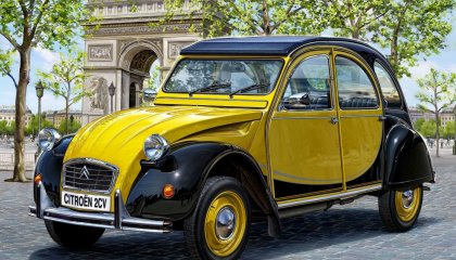 superb citroen 2cv 2560x1440 wallpaper 14677