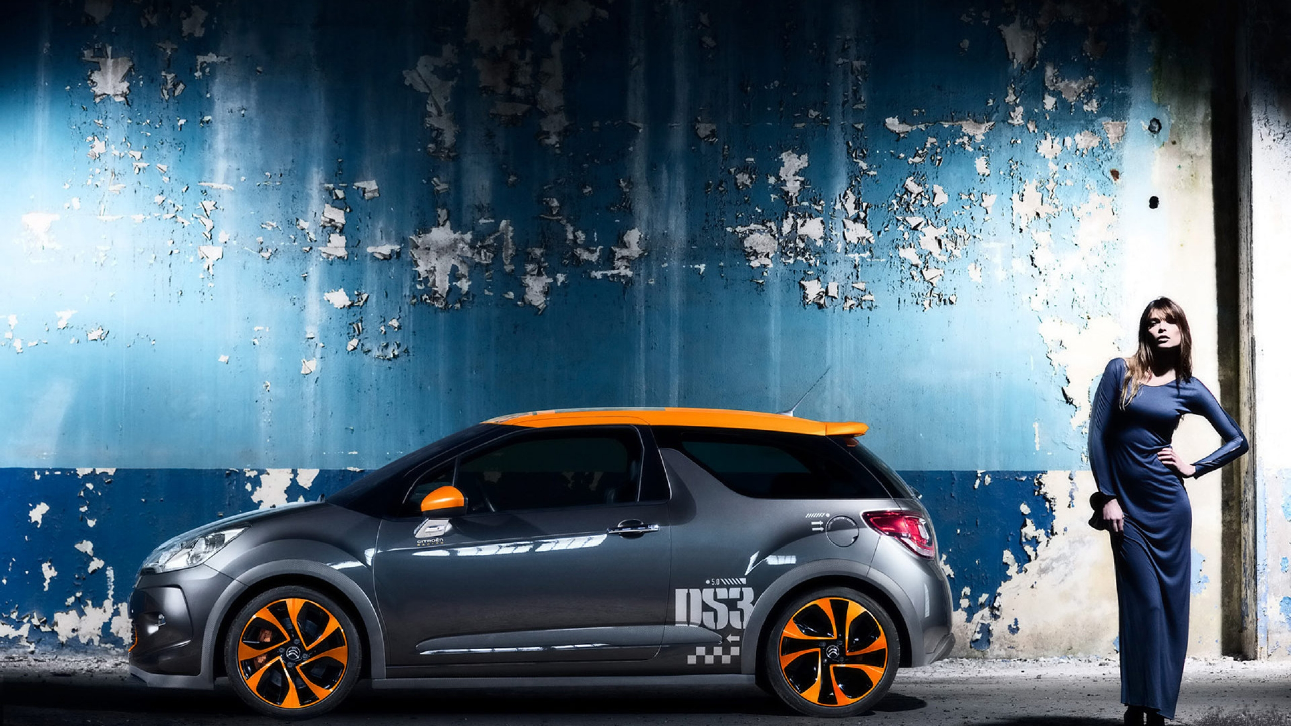 cool citroen ds3 side angle 2560x1440 wallpaper 3508