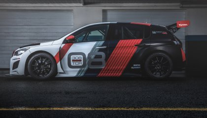 Peugeot 308 TCR 2018 Side View