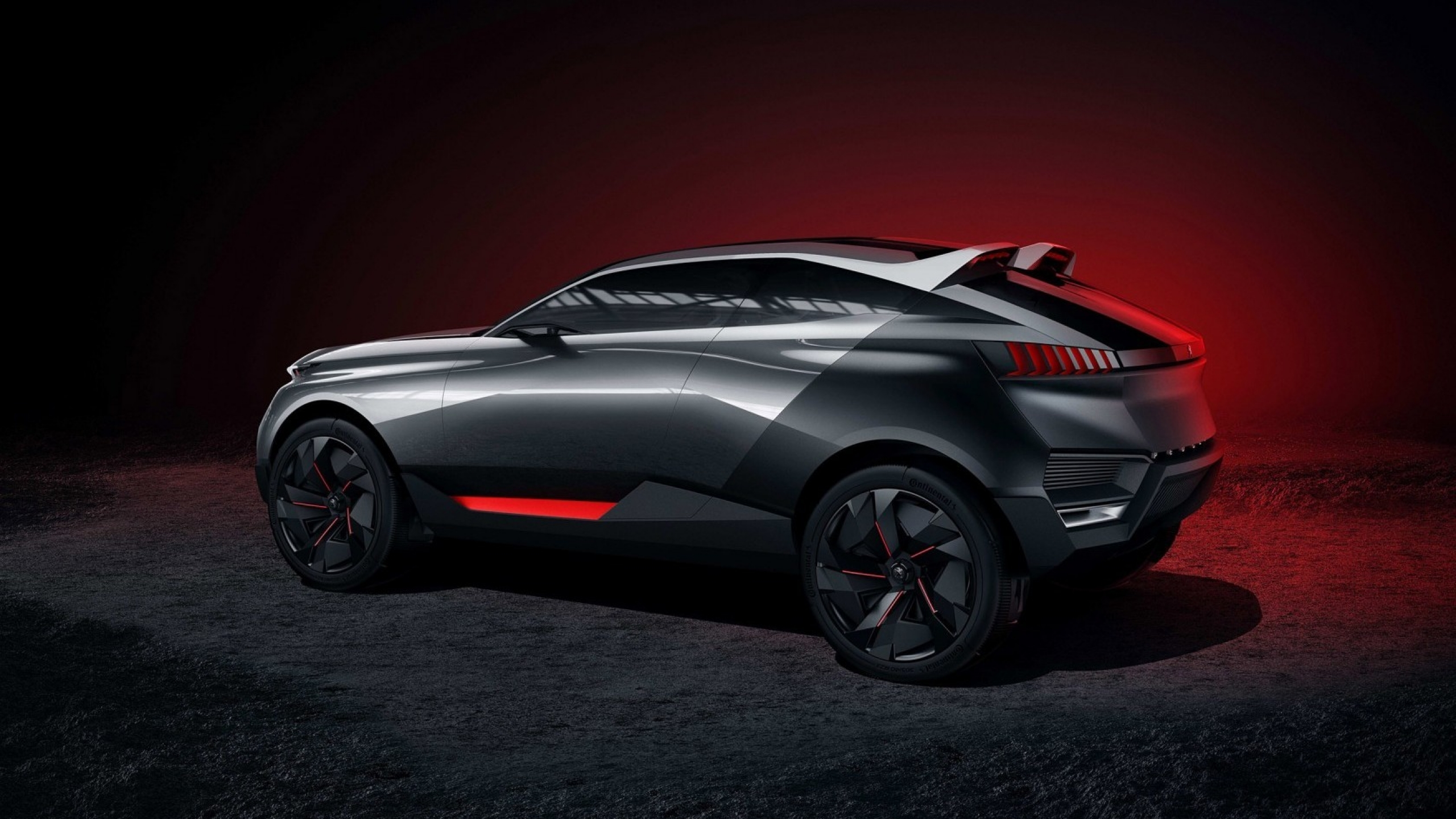 peugeot quartz concept side view 2560x1440 wallpaper